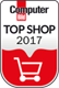Trusted Shops geprüft, Top Shop 2017, Google Kunderezensionen